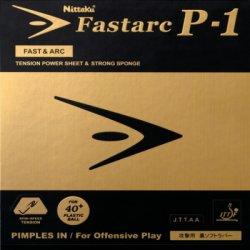画像1: Nittaku ファスターク P-1  FASTARC P-1 [テンション系裏ソフト]